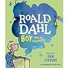 Boy Audiobook by Roald Dahl Narrated by Dan Stevens