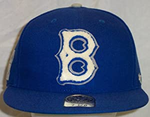 Brooklyn Dodgers Caterpillar 47 Pro Wool Cooperstown Retro Fitted Cap Hat size 7 5 8 by