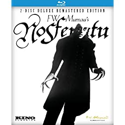 Nosferatu: Kino Classics 2-Disc Deluxe Remastered Edition [Blu-ray]