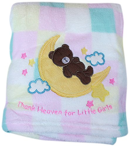 My Baby Good Night Moon Design Plush Blanket front-238869