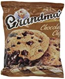 Grandmas Chocolate Chip Cookies - 33 Pks - Total 66 Cookies