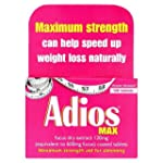 Adios Max Maximum Strength Weight Los...