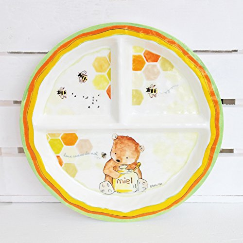 baby-cie-dani-doux-comme-du-miel-round-textured-sectioned-plate