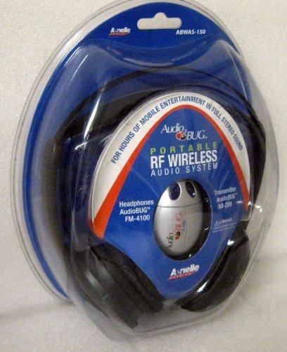 Audio Bug Portable Rf Wireless Audio System