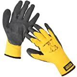ARTIC POLAR EXTRA WARM EXTRA GRIP WINTER WORKING GLOVE SIZE LARGE (10) YELLOWby Green Jem
