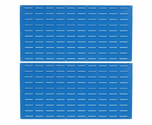 Triton Products LVP-2 Epoxy Louvered Panel, 24-Inch H x 48-Inch W, Blue