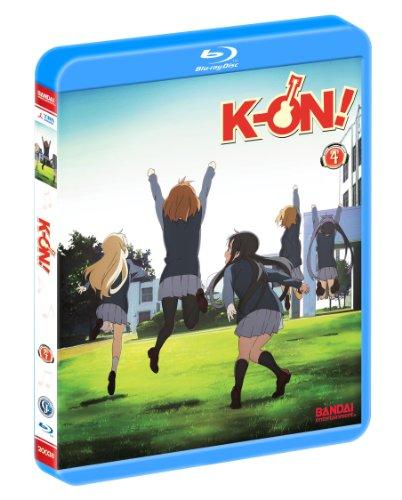 けいおん! [Blu-ray] Vol.4 北米版