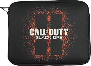 """Activision - Call of Duty: Black Ops Sleeve for Most Tablets up to 9.7"""" - Black"""