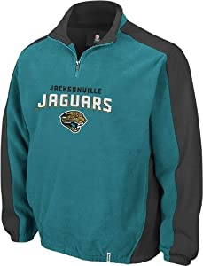Jacksonville Jaguars Reebok Covert 1 4 Zip Polar Fleece by Reebok