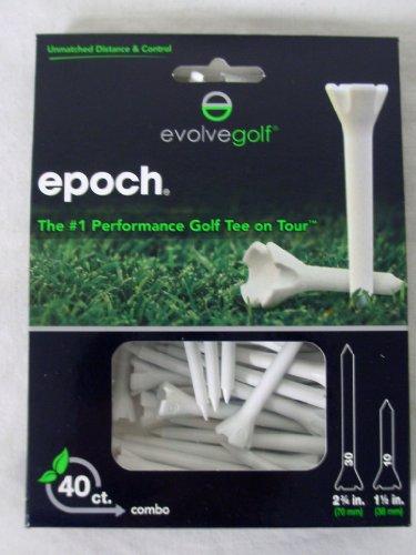 evolve-epoch-performance-tees-40pk-mix-275-15-white-golf-tee