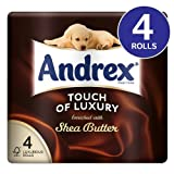 Andrex Shea Butter Toilet Tissue 8x4 per pack