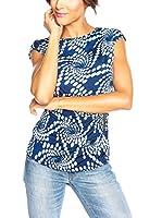Love U Camiseta Manga Corta Odile (Azul Marino)