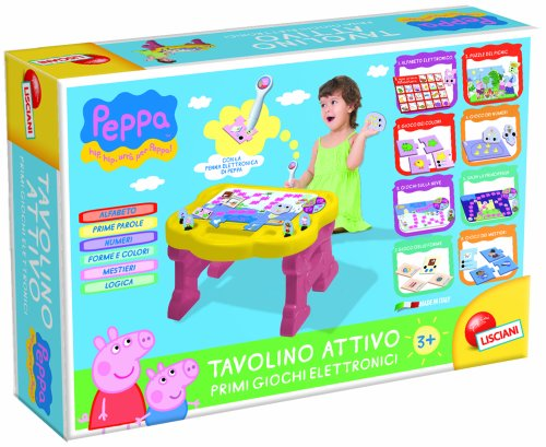 Liscianigiochi 43187 - Peppa Pig Tavolino Elettronico