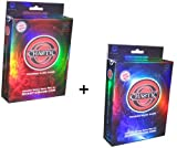 Chaotic Card Game Set of Both Dawn of Perim Starter Decks OverWorld and UnderWorld