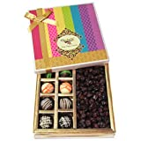 Chocholik Dryfruits Gift Box - Bitterfull Collection Of Chocolates & Cranberry - Gifts For Diwali