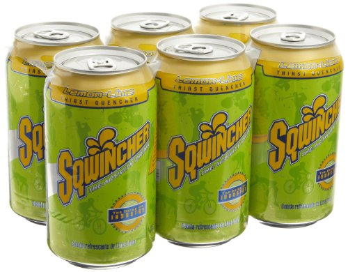 Sqwincher 100108-Ll 12 Oz Ready To Drink Can, Lemon Lime Flavor (Case Of 24)