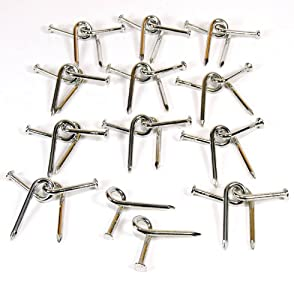 Twisted Nail Puzzle _ Bundle of 12 Identical Puzzles