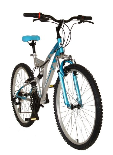 Mantis Orchid Women's 26- Inch Bike, Blue/Silver