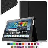 Fintie Slim Fit Folio Case Cover for Samsung Galaxy Tab 2 10.1h Tablet - Black