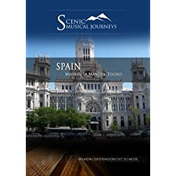 Naxos Scenic Musical Journeys Spain Madrid, La Mancha, Toldeo