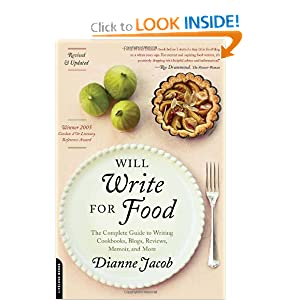 Will write for food by Dianne Jacob cover