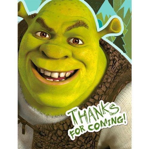 Shrek 'Forever After' Thank You Notes w/ Envelopes (8ct)