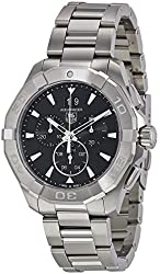 TAG Heuer Men's CAY1110.BA0925 Analog Display Quartz Silver Watch