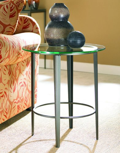 Cheap Round End Table with Glass Top (M30-30) (M30-30)