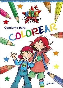 Amazon.com: Cuaderno para colorear / Coloring Book (Kika Superbruja Y