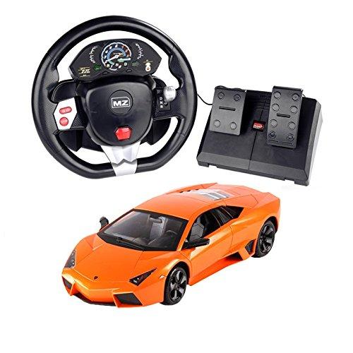Lamborghini MZ Lamborghini Pedal Control  Steering Wheel Car 2053T