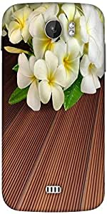 Snoogg Butterfly On Flowers Designer Protective Back Case Cover For Micromax A110