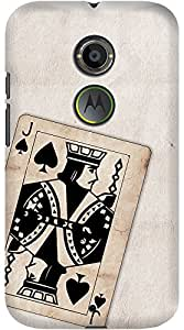 Kasemantra Jack Of Spades Case For Motorola Moto X2