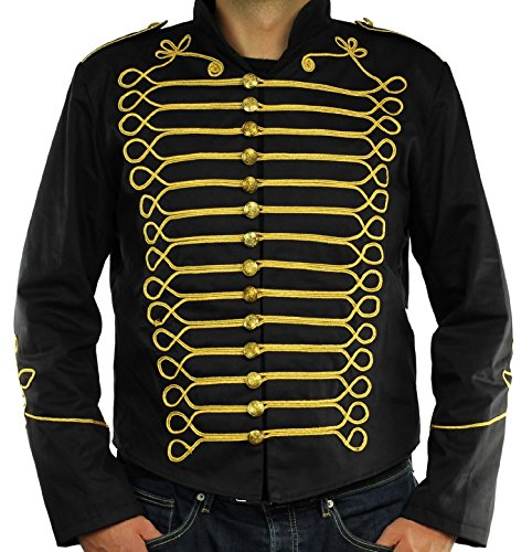 Steampunk-Napoleon-Military-Drummer-Parade-Jacket