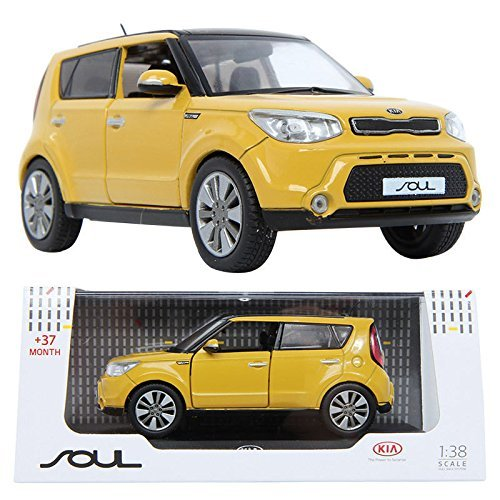 kia-all-new-soul-diecast-metal-138-display-case-included-mustard-color