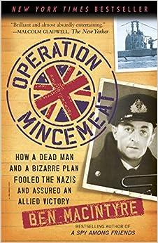 Jacket image, Operation Mincemeat by Bill McIntyre