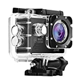 Nexgadget Action Camera, EXPLORER Series WiFi Sports Camera FHD 1080P 140 Degree Wide-Angle Lens, IP68 Certified Waterproof Camera Diving up to 30 Meters