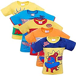 SPIDERMAN BOYS T-SHIRT PACK OF 5