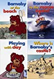 Barnaby Bear at the Seaside - Little Books Sample Set (Barnaby Bear at the Seaside Series)