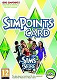 echange, troc The Sims 3 Store: 1000 Points Retail Card (PC/Mac) [import anglais]