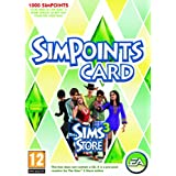 The Sims 3 Store: 1000 Points Retail Card (PC/Mac)by Electronic Arts