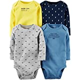 Carter's Baby Boys Multi-Pack Bodysuits 126g338, Assorted, 12 Months