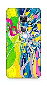 Amez designer printed 3d premium high quality back case cover for LeEco Letv Le 2 (Abstract Colorful 7)