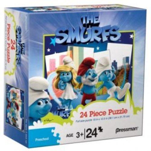 The Smurfs 24 Piece Puzzle - Smurf in NY - 1
