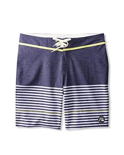 Quiksilver Men's East Side Stripe 9 Boardshort