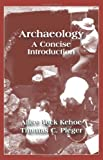 img - for Archaeology: A Concise Introduction book / textbook / text book
