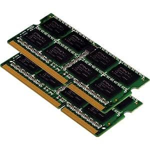PNY MN8192KD3-1066 Optima 8 GB 2 x 4 GB PC3-8500 1066MHz DDR3 Notebook SODIMM Memory Kit