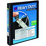 Avery Nonstick Heavy-Duty EZD Reference View Binder, 1 Inch, Black (79699)