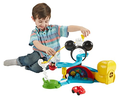 Fisher-Price - Disney Mickey Mouse Clubhouse - Zip, Slide and Zoom Clubhouse (Fisher Price Mickey Clubhouse compare prices)