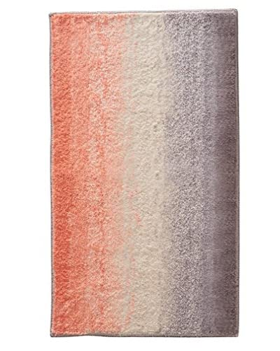 InterDesign Ombre Rug, Coral Multi