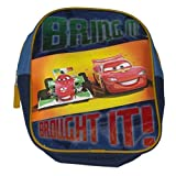 Disney Cars Lightning McQueen 3D Mini Backpack Bring It Bought It Back Pack